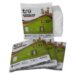 Tru Garbage Bags Virgin - 80x110cm - Large - 20pc - 20pkt