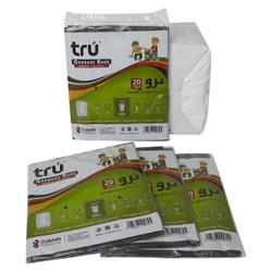 Tru Garbage Bags Virgin - 65x95cm - Medium - 20pc - 20pkt