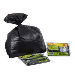Garbage Bags Heavy Duty Recycle - 95x120cm - Tidy - 20pkt