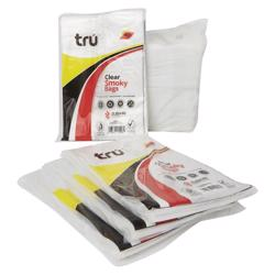 Tru Smoky Clear Plastic Bags 8x12in - 10kg