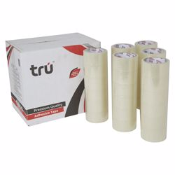 Tru Clear Tape 48mm - 100 yards - 36pcs