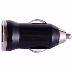 Mini Car Charger For Mobile Phone Black