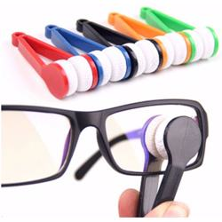 5PC Microfiber Mini Sun Glasses Eyeglass Microfiber Brush Cleaner Cleaning Spectacles Tool Clean Brush