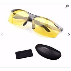 Anti-glare Day Night Vision Goggles Driving Polarized Sunglasses for men