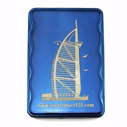 USB-charging Cigarette Lighter, regargeable and flameless - Blue Burj Al Arab