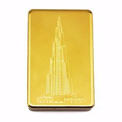 Lighter with USB, Burj Kalifa, gold