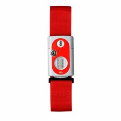 Yale YTL1 Travel Strap Combination Padlock with TSA Device 62 mm Red preview