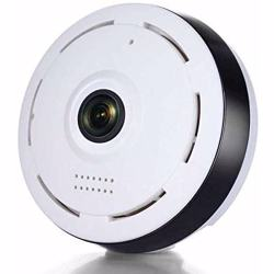 VR360 Indoor Wireless IP Camera with Wifi Tow way Voice Panoramic 360 Degree Fish-eye View