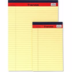 Sinarline Legal Pad Yellow A4 Size