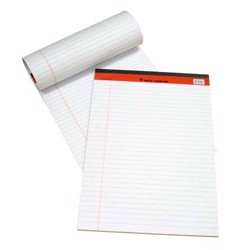 Sinarline Legal Pad White A4 Size