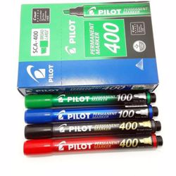 Pilot Permanent Marker (1x12) - Assorted Colors