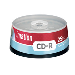 Imation CD-R (1x25) spindle
