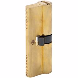 Double Cylinder Door Lock With Dimple/Computerized Key 6 Pin Gold 80 mm preview
