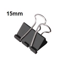 Top Star Double clips 15mm (1x12/pkt)