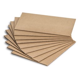 3 Ply Corrugated Board (Plain)