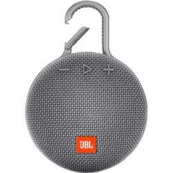 JBL Clip 3 Portable Wireless Speaker - Gray
