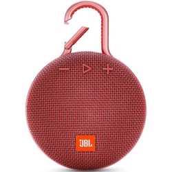 JBL Clip 3 Portable Wireless Speaker - Red