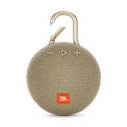 JBL Clip 3 Portable Wireless Speaker - Sand