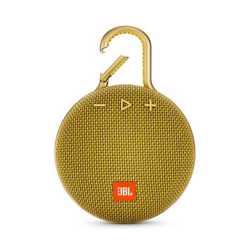 JBL Clip 3 Portable Wireless Speaker - Yellow