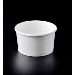 White Ice Cream Paper Cup