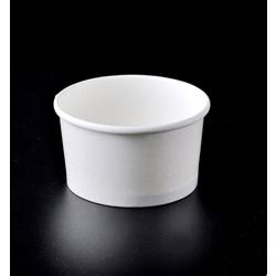 White Ice Cream Tub