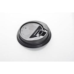 Plastic Lid With Button