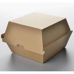 F-Flute Kraft Hamburger Box