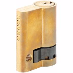 Half Cylinder with Key Door Lock 5 Pin Gold 45 mm preview