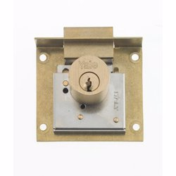 Yale 820 Cabinet Locks for wooden wardrobe and drawers 40mm preview
