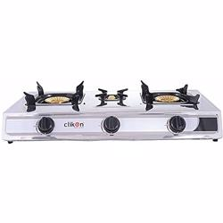 Clikon 3 Burner Gas Table CK4253