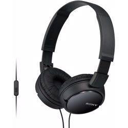 Sony MDRZX110AP On-Ear Stereo Headphones with Mic-Black preview