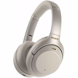 Sony WH1000XM3 Wireless Noise Cancelling Headphones-Silver preview