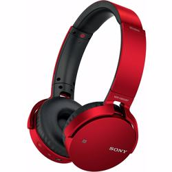 Sony XB650BT EXTRA BASS Wireless Headphones-Red preview