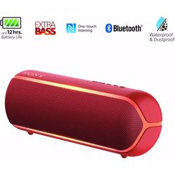 Sony XB22 Extra Bass Portable Bluetooth Speaker-Red preview