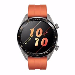 Huawei Watch GT- Orange Fluoroelastomer Strap