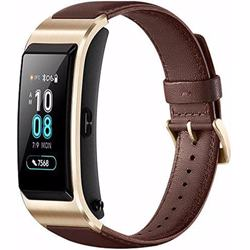 Huawei Talkband B5- Mocha Brown Leather Band
