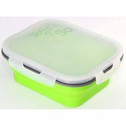 Good 2 Go Rectangle Container 1Ltr- Green