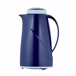 Helios Vacuum Flask 1.0 Ltr - Dark Blue