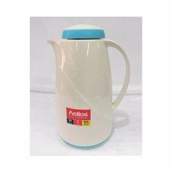 Helios Flask 1.0 Ltr-White / Aqua