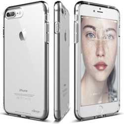 Elago Cushion Back Case for iPhone 8 / 7 Plus - Crystal Clear