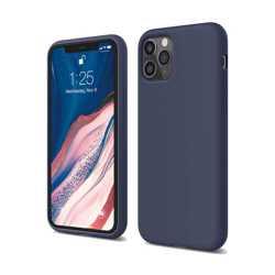 Elago Silicone Case for iPhone 11 Pro Max - Jean Indigo