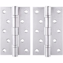 "Dorfit Two Ball Bearing Door Hinges 6""x4""x3 mm SUS201 Silver"
