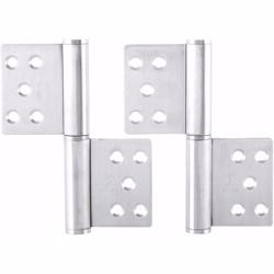"Dorfit DTSS030 Flag Hinges For Door 5""x4""x3 mm"