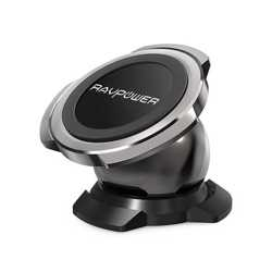 RAVPower Magnetic Car Phone Holder - Black