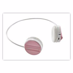 H6020 PRO PK Rapoo H6020 Bluetooth 4.1 Stereo Headset Wireless Headphone with hidden Microphone - 16 Hours Play Time - Pink preview