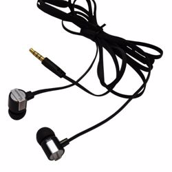 TechMate DT 5007 SL/BK EarPhone with Mic - Black/Silver preview