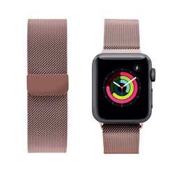 iGuard by Porodo Mesh Band for Apple Watch 40mm / 38mm - Pink