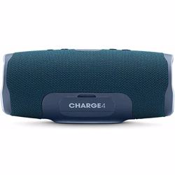 JBL Splashproof Portable Bluetooth Speaker With Usb Charger Charge4- Blue