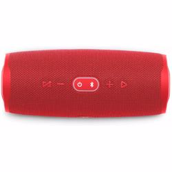JBL Splashproof Portable Bluetooth Speaker With Usb Charger Charge4- Red