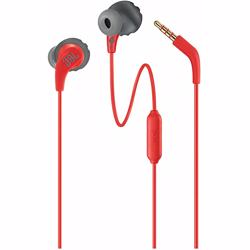 JBL Sweatproof Wired Sports In-Ear Headphones Endurance Run- Red
